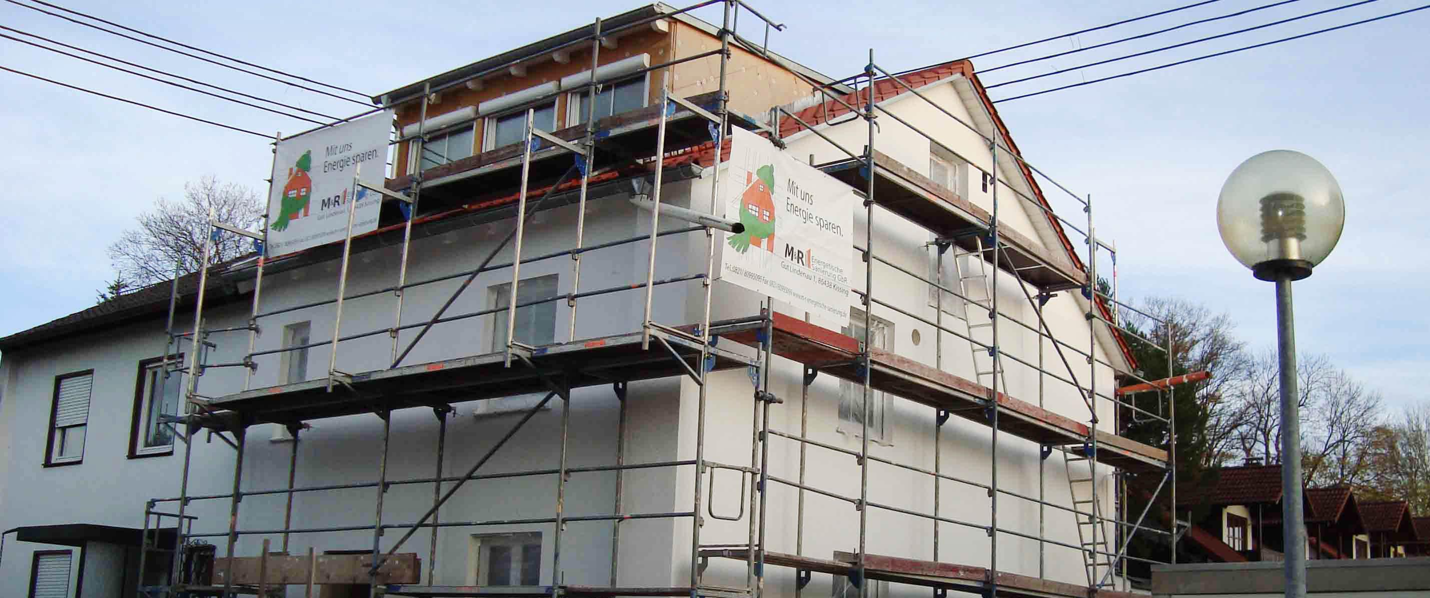 Fassadensanierung (DHH)